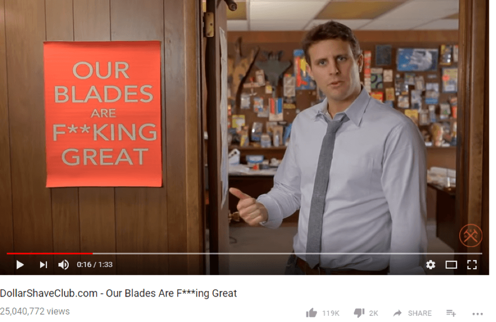 DollarShaveClub - Our Blades are Great