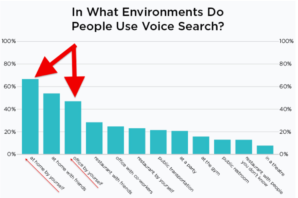 Data about voice search usability by Stone Temple