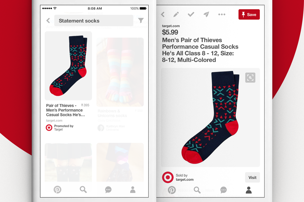 Pinterest has launched ads