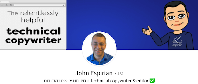 John Espirian - LinkedIn Profile