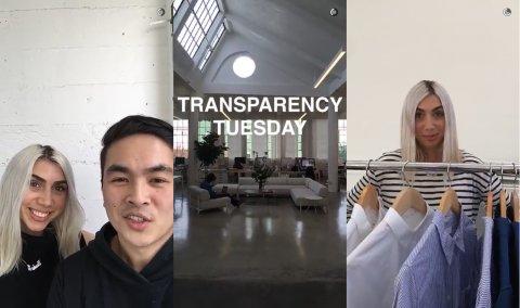 Everlane's Transparent Tuesday's