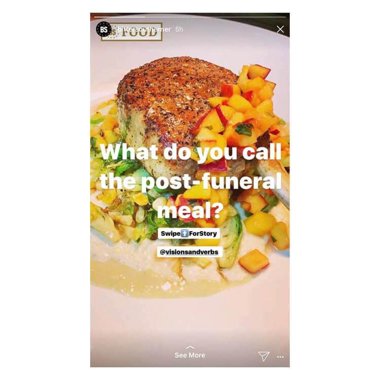 Bitter Southerner Instagram Stories
