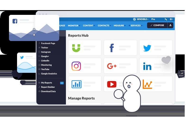 Sendible Reports Hub